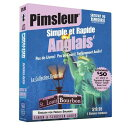 Pimsleur English for French Speakers Quick & Simple Course - Level 1 Lessons 1-8 CD: Learn to Speak
