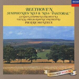 ベートーヴェン:交響曲第5番「運命」・第6番「田園」 [ ピエール・モントゥー ]
