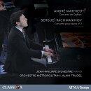 【輸入盤】ラフマニノフ:ピアノ協奏曲第2番、マテュー:ケベック協奏曲 ジャン=フィリップ・シルヴェストル、ア…