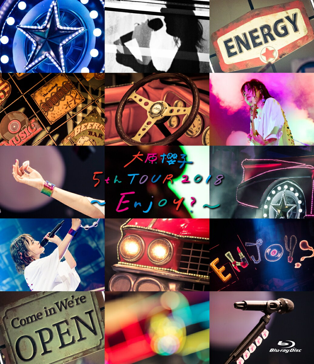 大原櫻子 5th TOUR 2018 〜Enjoy?〜【Blu-ray】 [ 大原櫻子 ]