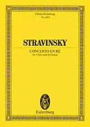 【輸入楽譜】ストラヴィンスキー, Igor: バイオリン協奏曲 ニ長調: スタディ・スコア