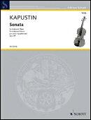 【輸入楽譜】カプースチン, Nikolai: ビオラ・ソナタ Op.69