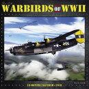 Warbirds of WWII 2018 Wall Calendar