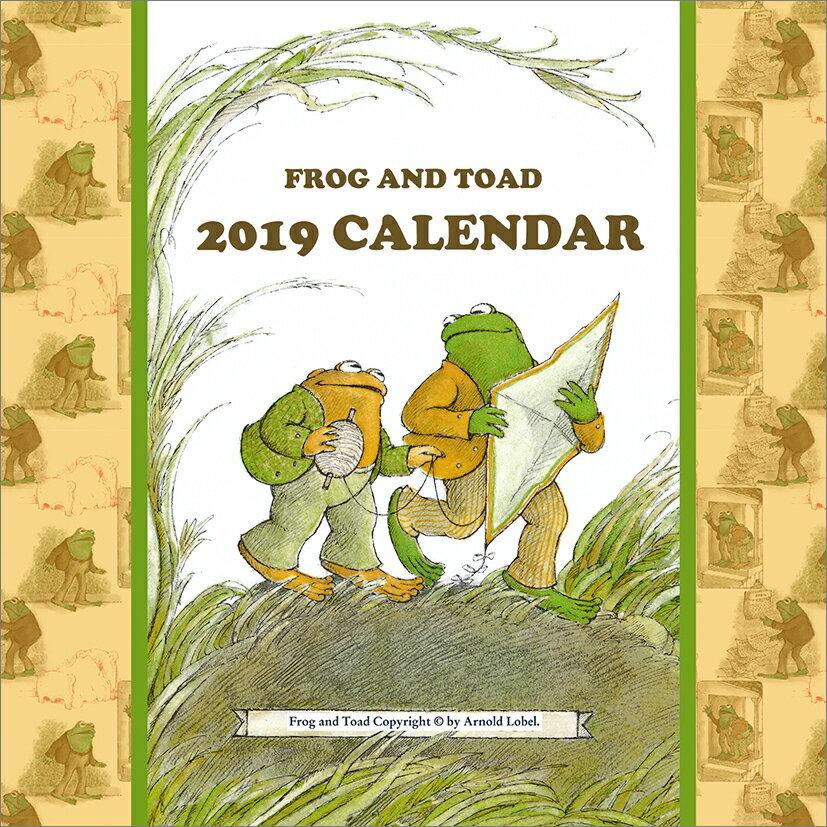 がまくんとかえるくん(2019年1月始まりカレンダー)
