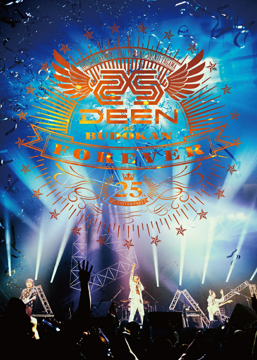 DEEN at BUDOKAN FOREVER 〜25th Anniversary〜(完全生産限定盤)【Blu-ray】 [ DEEN ]