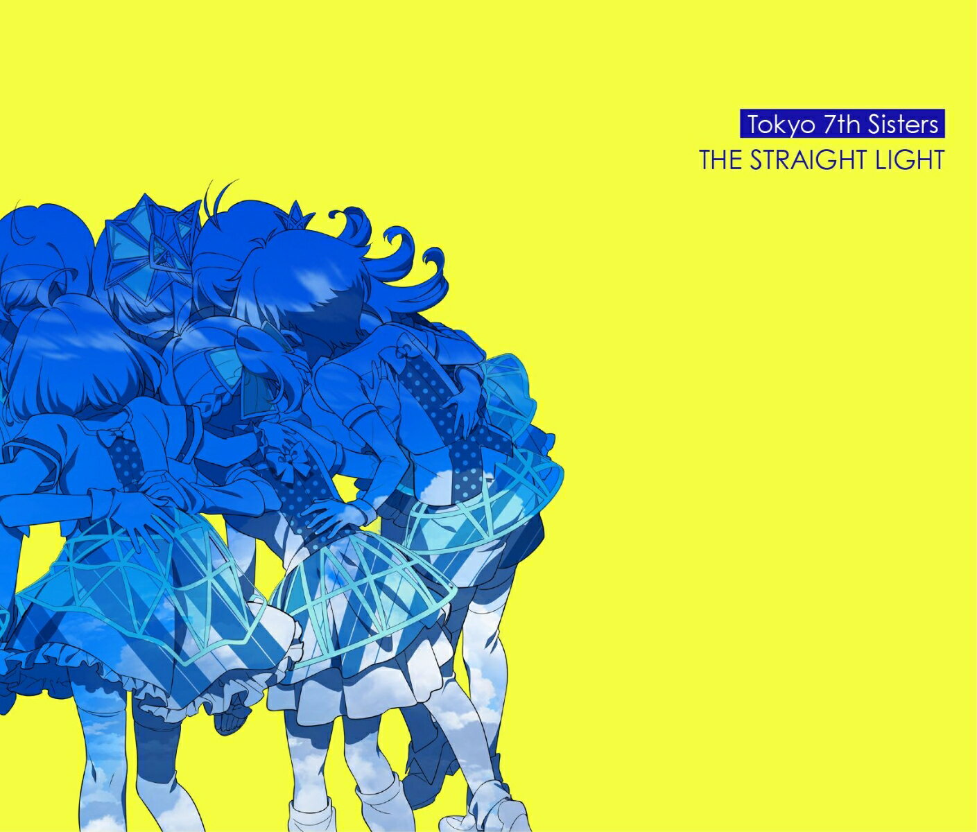 THE STRAIGHT LIGHT (初回限定盤 3CD+DVD) [ Tokyo 7th シスターズ ]