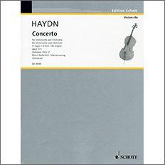 【輸入楽譜】ハイドン, Franz Joseph: チェロ協奏曲 第2番 ニ長調 Op.101 Hob.VIIb/2/Gendron編