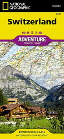 Switzerland Adventure Travel Map