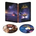 【楽天ブックス限定】アラジン 4K UHD MovieNEX スチールブック(数量限定)【4K ULTRA HD】+コレクターズカード [ メ…