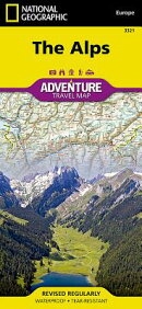 The Alps Adventure Travel Map