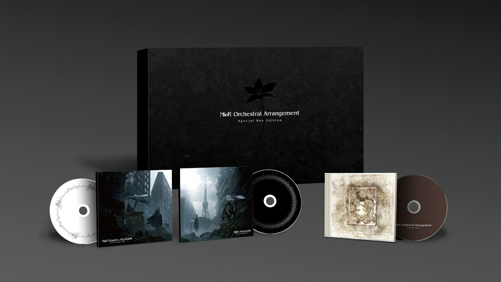 NieR Orchestral Arrangement Special Box Edition (完全生産限定盤) [ (ゲーム・ミュージック) ]