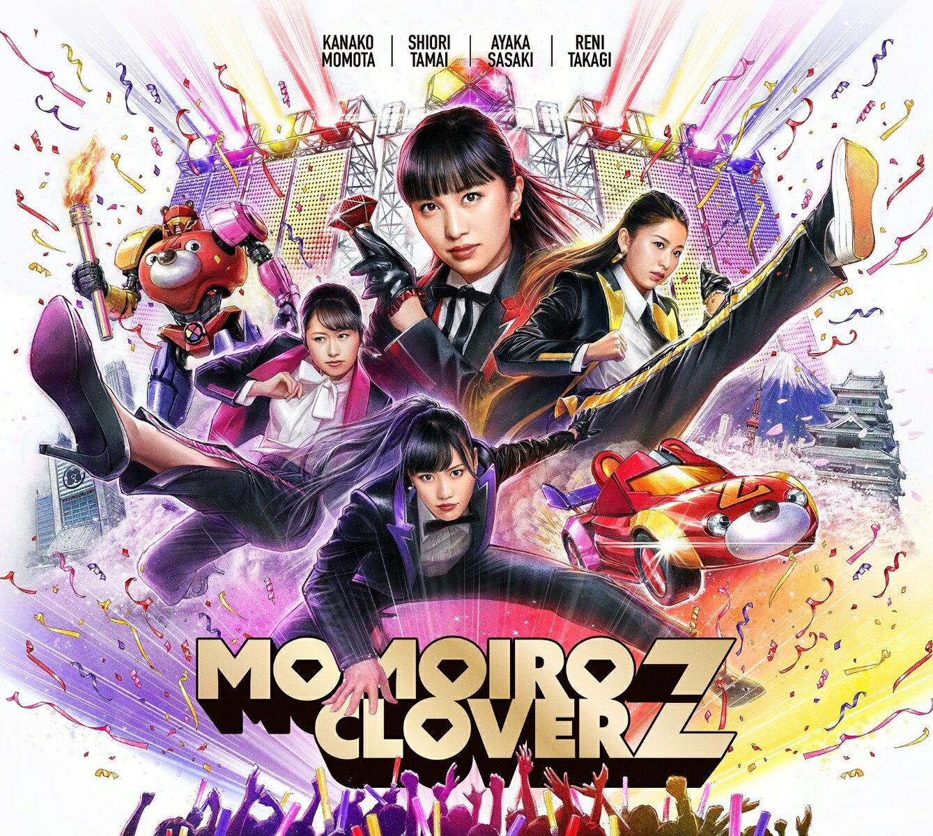 【楽天ブックス限定オリジナル配送BOX】MOMOIRO CLOVER Z (初回限定盤A CD+Blu-ray) [ ももいろクローバーZ ]