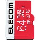 エレコム microSDXCカード/UHS-I/U1/Class10/NINTENDO SWITCH検証済/64GB GM-MFMS064G