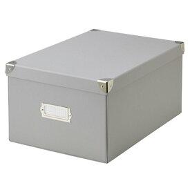 ラドンナ ルーモナイズ マジックボックス L グレー RMX-002GY 収納ケース (文具(Stationary))
