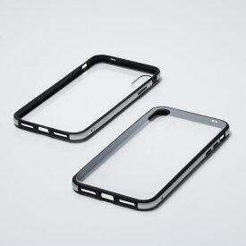 Deff Hybrid Case Etanze for iPhone Xs/X 透明クリア/シルバー
