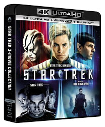 スター・トレック 3 ムービー・コレクション(4K ULTRA HD+3Dブルーレイ+ブルーレイ)【4K ULTRA HD】