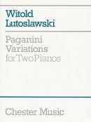 【輸入楽譜】ルトスワフスキ, Witold: パガニーニの主題による変奏曲