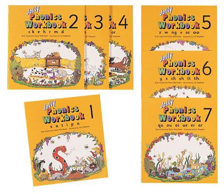 Jolly Phonics Workbooks Set WORKBK-JOLLY PHONICS SET-7PK [ Sue Lloyd ]