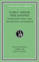 Early Greek Philosophy, Volume I: Introductory and Reference Materials