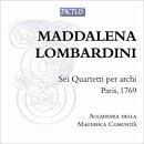 【輸入盤】6つの弦楽四重奏曲 アカデミア・デッラ・マニフィカ・コムニタ