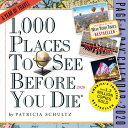 1,000 Places to See Before You Die Page-A-Day Calendar 2020 CAL-2020 1000 PLACES...