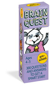 BRAIN QUEST PRESCHOOL 4/E [ CHRIS WELLES FEDER ]