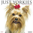 JUST YORKIES 2018 WALL CALENDAR
