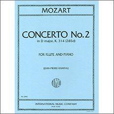 【輸入楽譜】モーツァルト, Wolfgang Amadeus: フルート協奏曲 第2番 ニ長調 KV 314/ランパル編