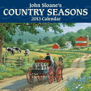 John Sloane's Country Seasons 2013 Mini Wall Calendar