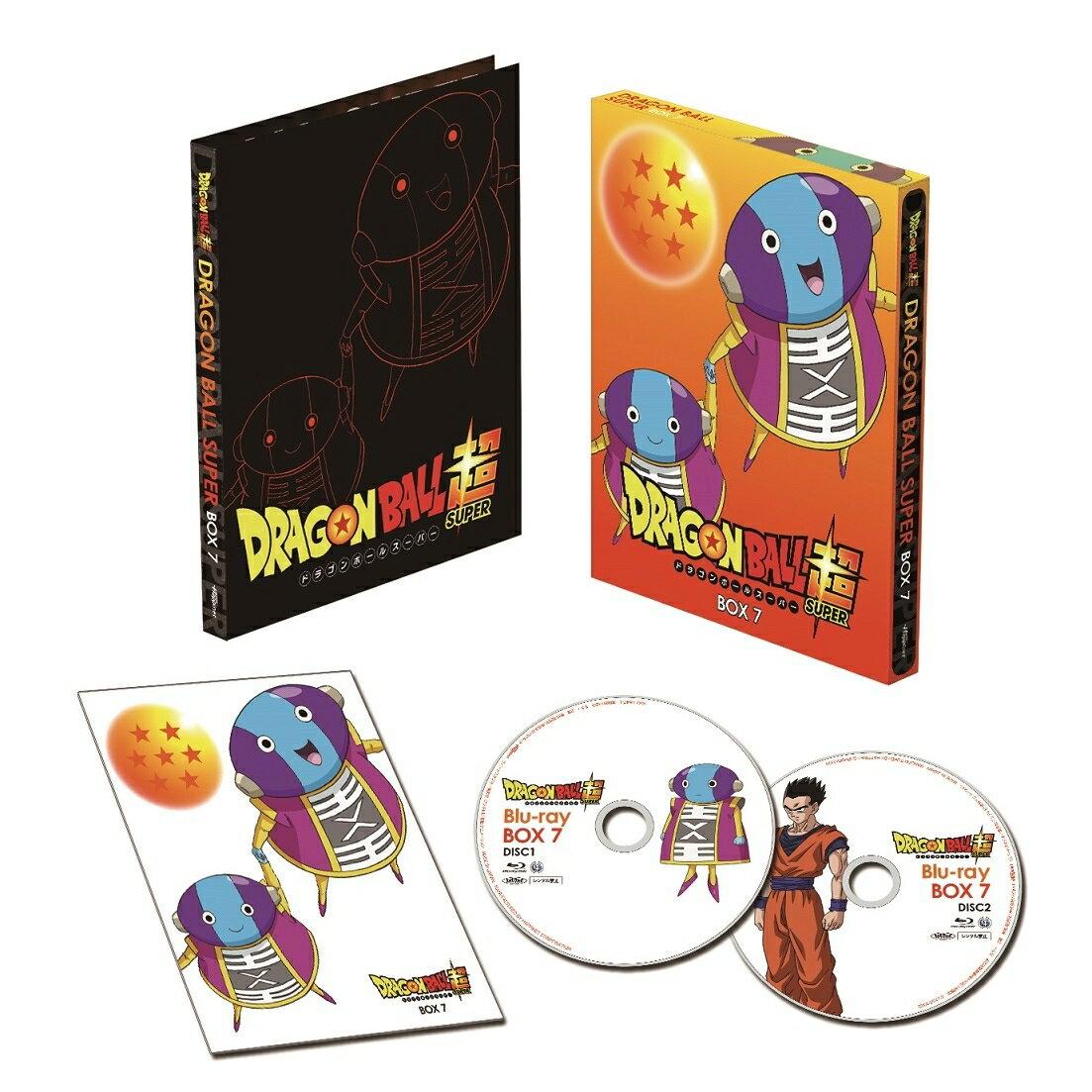ドラゴンボール超 Blu-ray BOX7【Blu-ray】 [ 鶴ひろみ ]