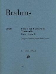 【輸入楽譜】ブラームス, Johannes: チェロ・ソナタ 第2番 ヘ長調 Op.99/原典版/Behr,Voss編/Kanngiesser運指