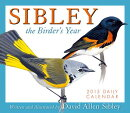 Sibley Daily Calendar: The Birder's Year