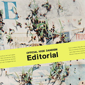 Editorial (CD+DVD) [ Official髭男dism ]