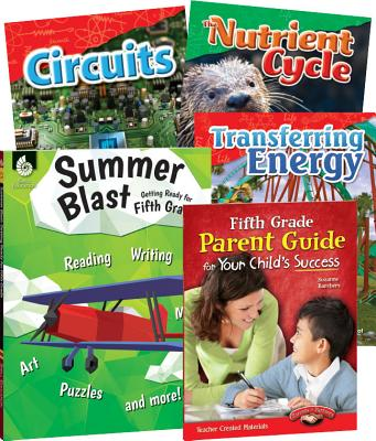 Learn-At-Home: Summer Stem Bundle with Parent Guide Grade 5 PREPAK-LEARN-AT-HOME [ Teacher Created Materials ]