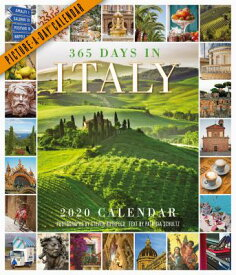 365 Days in Italy Picture-A-Day Wall Calendar 2020 CAL-2020 365 DAYS IN ITALY PIC [ Patricia Schultz ]