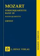 【輸入楽譜】モーツァルト, Wolfgang Amadeus: 弦楽四重奏曲集 第3巻: ハイドン・セット/原典版/Seiffert編: スタデ…