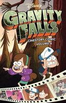 Disney Gravity Falls Cinestory Comic, Vol. 4