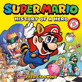 Super Mario 2020 Wall Calendar: Portraits of a Plumber SUPER MARIO RETRO 2020 WALL CA [ Nintendo ]
