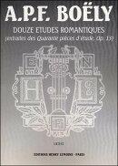 【輸入楽譜】ボエリー, Alexandre: 12のロマンティックなエチュード Op.13