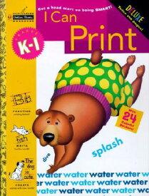 I Can Print (Grades K - 1) WORKBK-I CAN PRINT (GRADES K - (Step Ahead) [ Golden Books ]