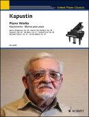 【輸入楽譜】カプースチン, Nikolai: ピアノ作品集