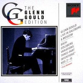 J.S.バッハ:ゴールドベルク変奏曲(1959年ライヴ) 3声のシンフォニア(1957年ライヴ) [ グレン・グールド ]