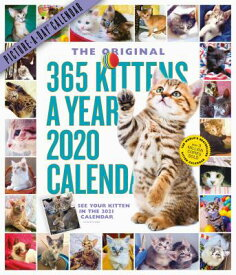 365 Kittens-A-Year Picture-A-Day Wall Calendar 2020 CAL-2020 365 KITTENS-A-YEAR PI [ Workman Calendars ]