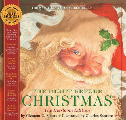 The Night Before Christmas [With Audio] NIGHT BEFORE XMAS HEIRLOOM/E [ Clement C. Moore ]