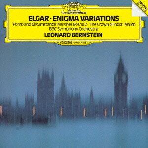 エルガー:エニグマ変奏曲、行進曲≪威風堂々≫第1番・第2番、他 [ レナード・バーンスタイン ]