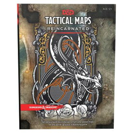 Dungeons & Dragons Tactical Maps Reincarnated (D&d Accessory) D&D- TACTICAL MAPS REINCARNATE (Dungeons & Dragons) [ Wizards RPG Team ]