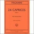 【輸入楽譜】パガニーニ, Nicolo: 24のカプリス Op.1/ガラミアン