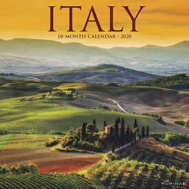 Italy 2020 Wall Calendar ITALY 2020 WALL CAL [ Willow Creek Press ]