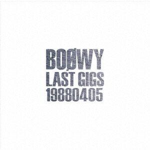 LAST GIGS -1988.04.05- [ BOOWY ]