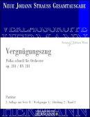 【輸入楽譜】シュトラウス二世, Johann: ポルカ「観光列車」 Op.281/ヨハン・シュトラウス全集版/Rot編: スコアと批…